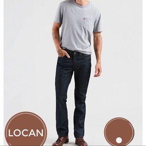 Levi's 514 Denim Blue Jeans Men's or Women's